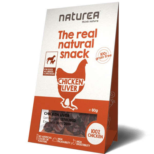 Naturea The real natural snack Chicken Liver Hunde Snack