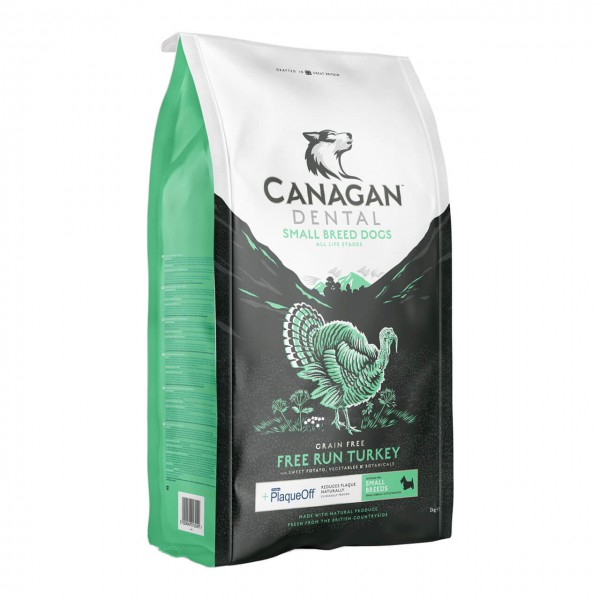 Canagan Dental Small Breed Free Run Turkey Hunde Trockenfutter