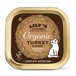 Lily's Kitchen Organic Turkey Dinner Katzen Nassfutter