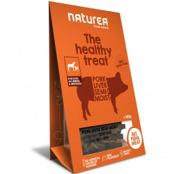 Naturea the healthy treat Pork Liver Semi-Moist Hunde Snack