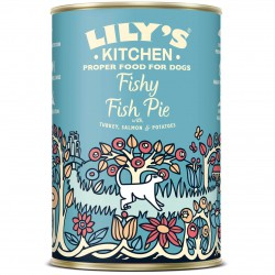 Lily's Kitchen Fishy Fish Pie Hunde Nassfutter 6x 400 g