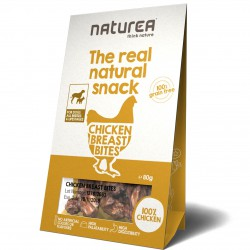 Naturea The real natural snack Chicken Breast Bites Hunde Snack