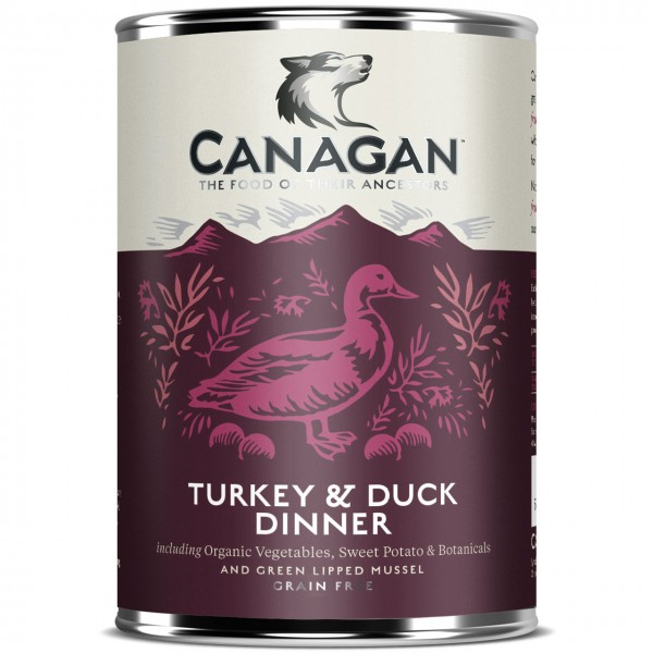 Canagan Turkey & Duck Dinner Hunde Nassfutter