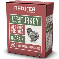 Naturea Fresh Chicken with Turkey Hunde Nassfutter