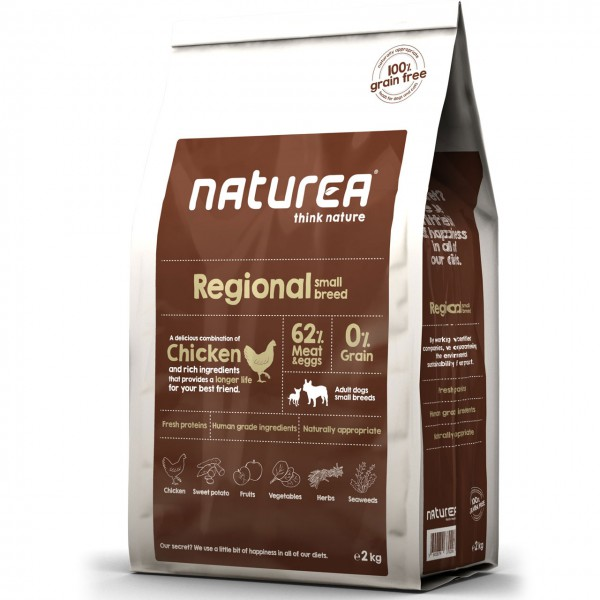 Naturea Grain Free Regional Small Breed Chicken Hunde Trockenfutter