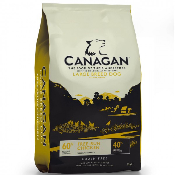 Canagan Large Breed Free-Run Chicken Hunde Trockenfutter 2x 12 kg
