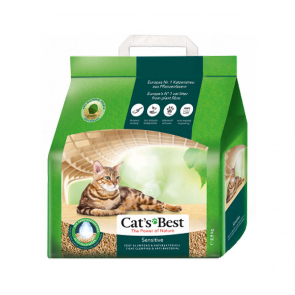 Cat's Best Sensitive Katzenstreu 2x 20 L