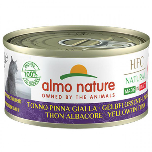 Almo Nature HFC Natural Made in Italy Gelbflossenthunfisch