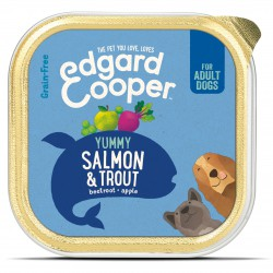 Edgard & Cooper Lachs & Forelle mit Rote Bete, Apfel & Spinat Hunde Nassfutter