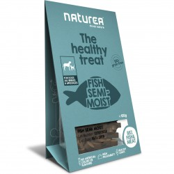 Naturea the healthy treat Fish Semi-Moist Hunde Snack