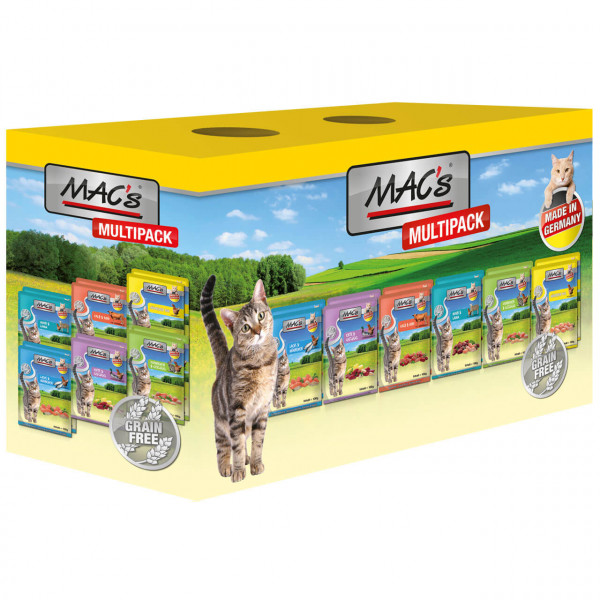 MAC's Cat Multipack Nr.3 Katzen Nassfutter