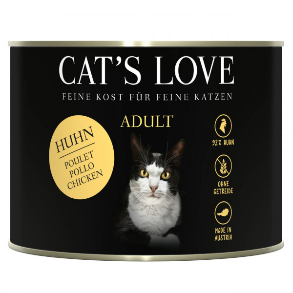 Cat's Love Adult Huhn Katzen Nassfutter