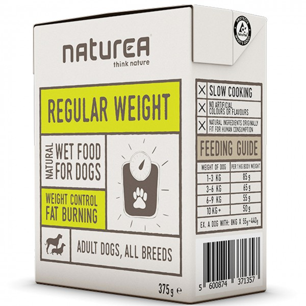 Naturea Regular Weight Hunde Nassfutter