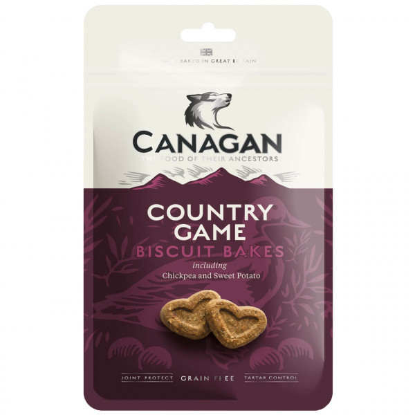 Canagan Country Game Biscuit Bakes Hundesnack 3x 150 g