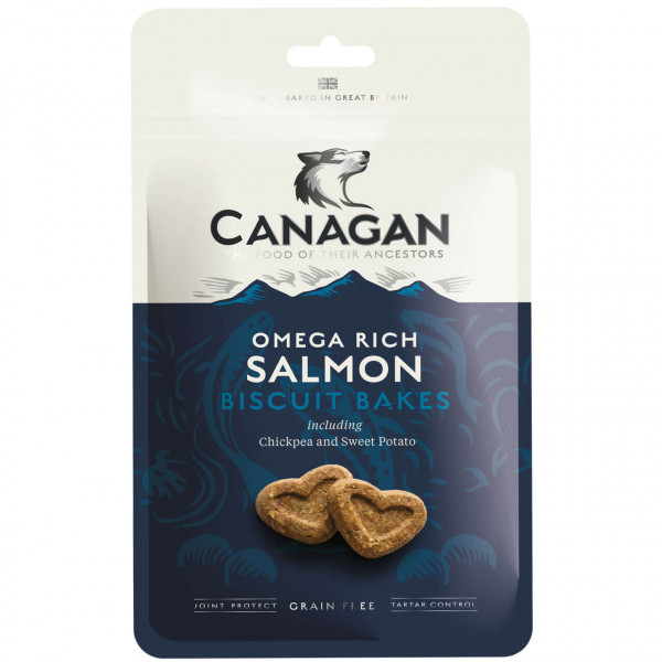 Canagan Salmon Biscuit Bakes Hundesnack 3x 150 g