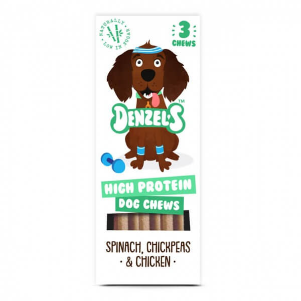 Denzel's High Protein Dog Chews Hunde Snack 3x 55 g