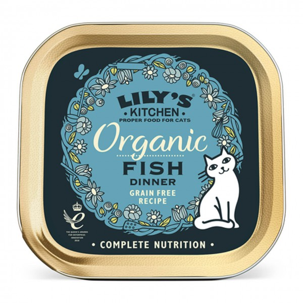 Lily's Kitchen Organic Fish Dinner Katzen Nassfutter
