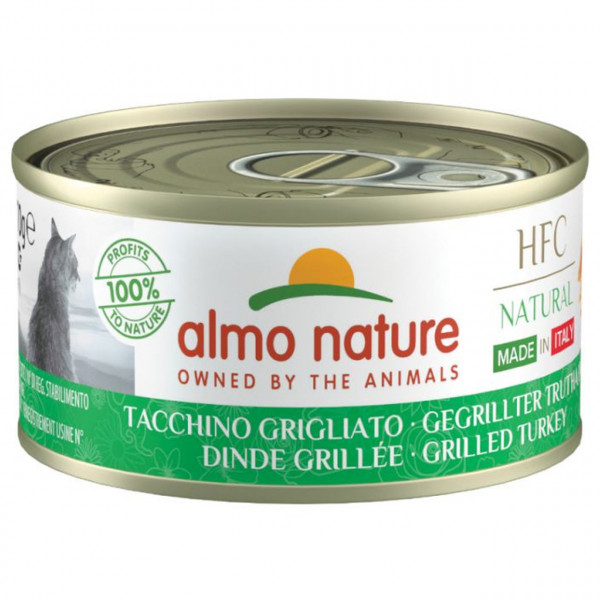 Almo Nature HFC Natural Made in Italy Gegrillter Truthahn