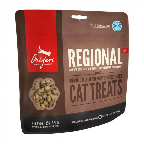 Orijen Regional Red Cat Treats Katzen Snacks