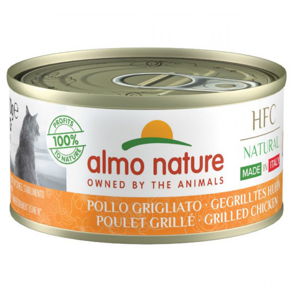 Almo Nature HFC Natural Made in Italy Gegrilltes Huhn