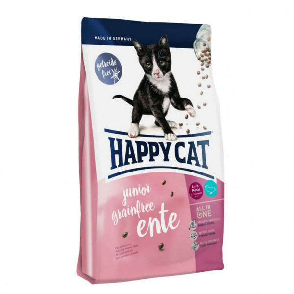 Happy Cat Junior Grainfree Ente Katzen Trockenfutter