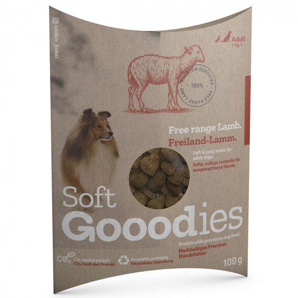 Goood Soft Goodies Freilandlamm Hundesnack