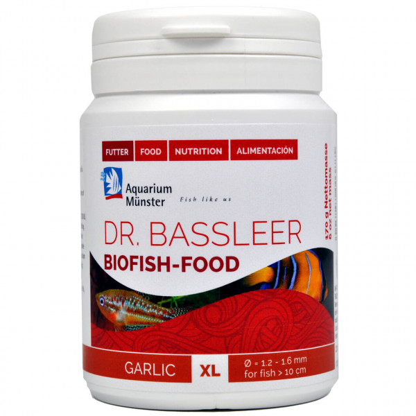 Dr. Bassleer Biofish-Food Garlic XL Aquarium Futter