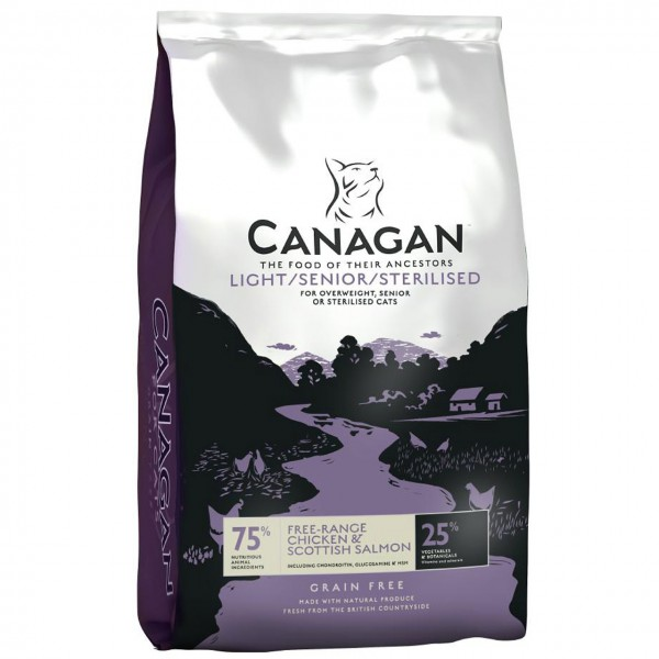 Canagan Light / Senior Katzen Trockenfutter