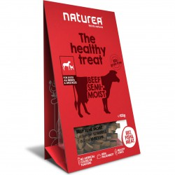Naturea the healthy treat Beef Semi-Moist Hunde Snack