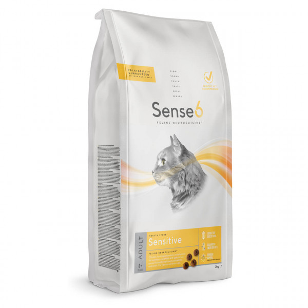 Sense6 Adult Sensitive Katzen Trockenfutter