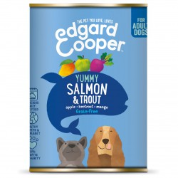 Edgard & Cooper Lachs & Forelle mit Apfel, Rote Bete & Mango Hunde Nassfutter
