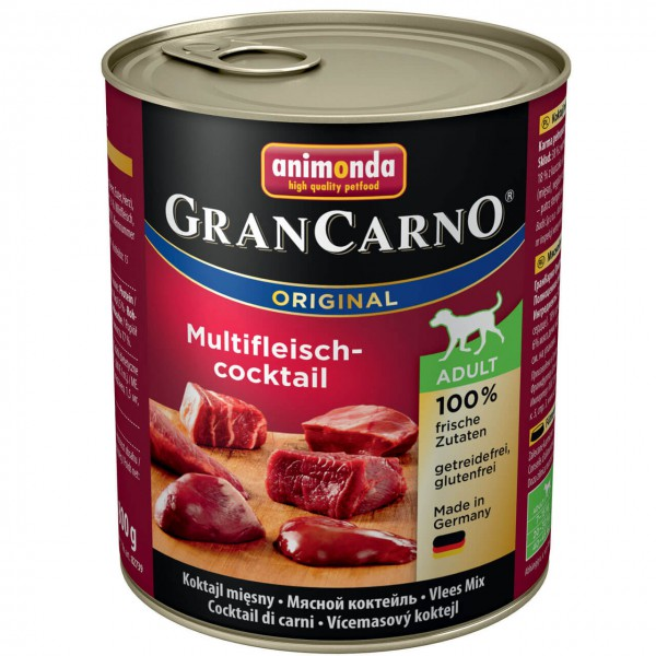 Animonda Gran Carno Original Multifleisch-Cocktail Hunde Nassfutter