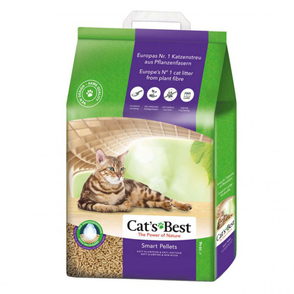 Cat's Best Smart Pellets Katzenstreu 2x 20 L