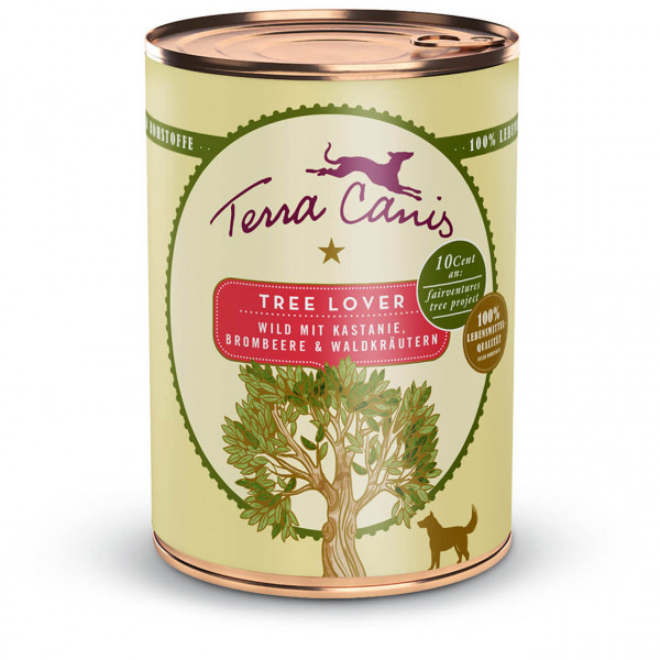 Terra Canis Save the Planet Tree Lover Multipack Hunde Nassfutter