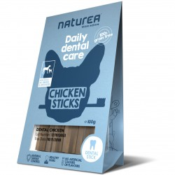 Naturea Daily Dental Care Chicken Sticks Hunde Snack