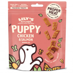 Lily's Kitchen Puppy Chicken & Salmon Nibbles Hunde Snack