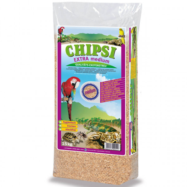 Chipsi EXTRA medium Nager Einstreu 2x 15 kg