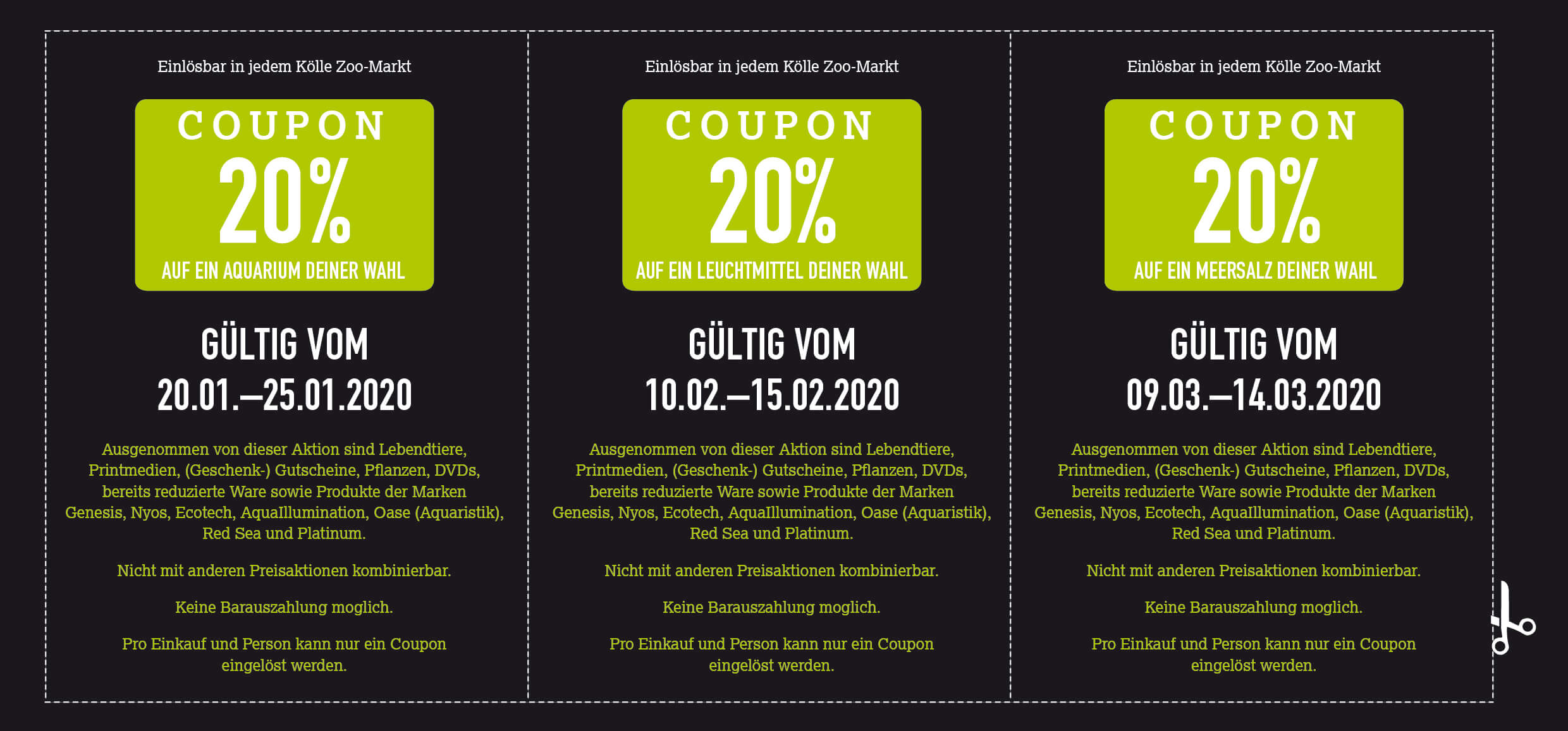 Coupon Aqua-Magalog 2020 DE
