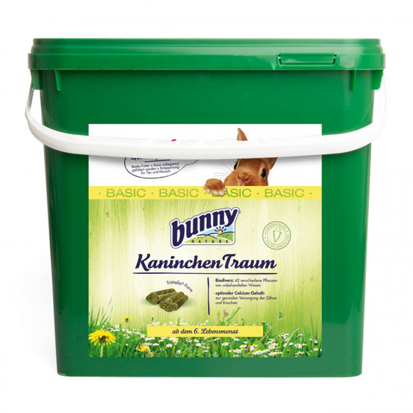 Bunny Kaninchen Traum Basic Nagerfutter