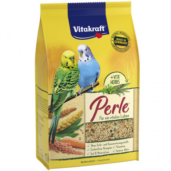 Vitakraft Perle Wellensittich Vogel Futter