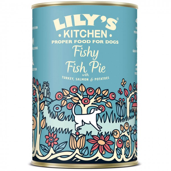 Lily's Kitchen Fishy Fish Pie Hunde Nassfutter