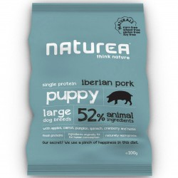 Naturea Naturals Puppy Large Breed Iberian Pork Hunde Trockenfutter