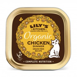 Lily's Kitchen Organic Chicken Dinner Katzen Nassfutter